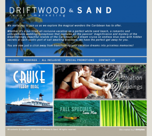 Driftwood and Sand Website
