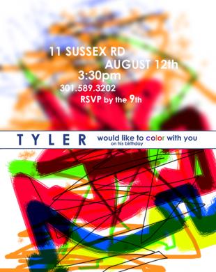 Tyler Invite